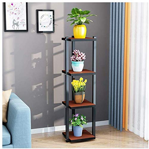 Plant Flower Stand Display Stand 2/3/4 Capas Huella pequeña Fácil ...