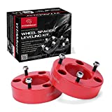 Ford F150 Leveling Kit, YITAMOTOR Ford Leveling Kit Lift Kit 2.5'' Front Leveling Lift Kit For 2004-2018 F150 Front Strut Spacers Raise The Front Of Your F150 2.5'' RED