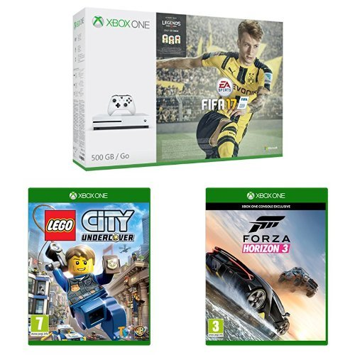 Xbox One S with FIFA (500GB) + Lego City Undercover + Forza ...
