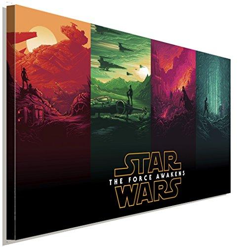 Star Wars The Force Awakens Leinwandbild LaraArt Studio Wanddeko Wandbild 40 x 30 cm