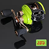NOEBY 6.3:1 Baitcasting Right Fishing Reel with 10+1 Ball Bearings