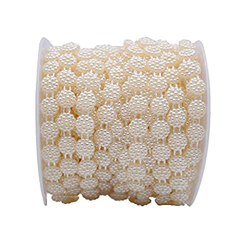 10mm ABS Crystal Beads Sunflower plate shaped crystal garland for DIY Clothing accessories Wedding Faux Pearls Beads - Maple Three Pendant Light