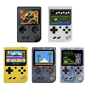 Oguine Portable Built-in 168 Games Mini Handheld Game Console Handheld Games
