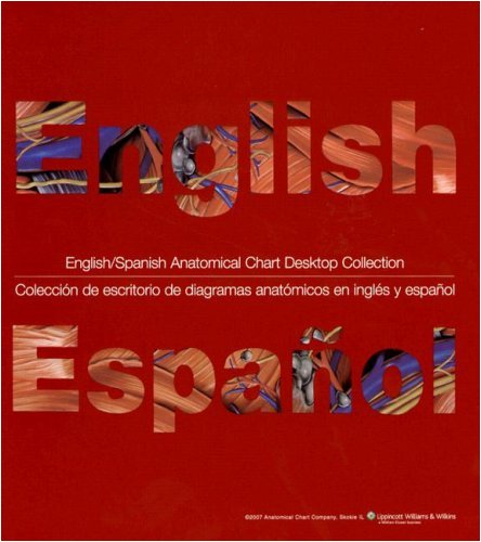 omical Chart Desktop Collection: 34 Comprehensive Anatomy and Disease Topics Presented in Both English and Spanish ()