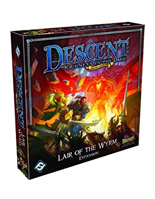 Descent Second Edition Lair Of The Wyrm Expansion by Fantasy Flight Pub Inc