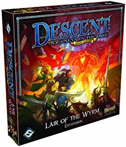 Descent Second Edition: Lair of the Wyrm: Fantasy Flight Games: Amazon.es: Juguetes y juegos