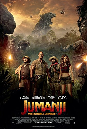 Jumanji: Welcome to the Jungle Movie POSTER 27 x 40, Dwayne