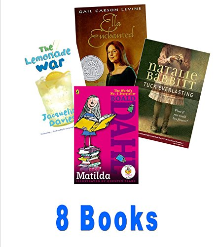 Girls Top Choices (Grade 3-5): the Borrowers; the Tiger Rising; Tuck Everlasting; Ella Enchanted; the Lemonade War (The Unofficial Box Set)