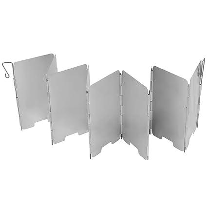 TOOGOO 9 Placas Pantallas de escudo de viento de estufa de gas de cocina coccion cmping