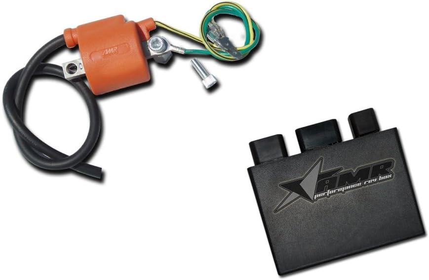 AMR Racing CDI Rev Box Upgrade Compatible with Honda ATV TRX400EX TRX400-1999-2008 Stage 2