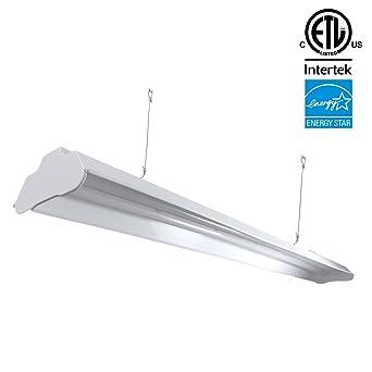 archipelago utility led shop light 4ft integrated led shop light fixture with 5ft cord
