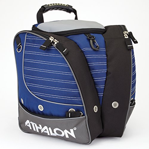 Athalon PERSONALIZEABLE KIDS BOOT BAG/BACKPACK - SKI - SNOWBOARD - HOLDS EVERYTHING - (BOOTS, HELMET, GOGGLES, GLOVES)