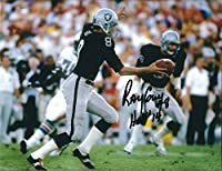 Autographed Ray Guy 8x10 Oakland Raiders Photo