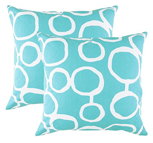TreeWool,  Ringo Accent Throw Pillow Covers in Cotton Canvas