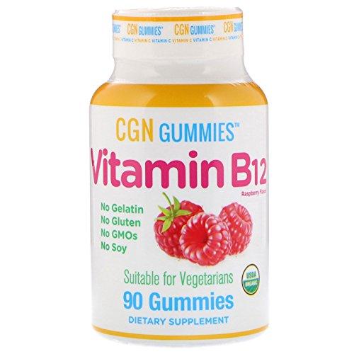 California Gold Nutrition, Methyl B12 MethylCobalamin, Natural Raspberry Flavor, 1500 mcg, 90 Gummies