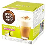 Nescafé Dolce Gusto Skinny Cappuccino, 16 Capsules - Pack of 3 (48 Capsules, 24 Servings)