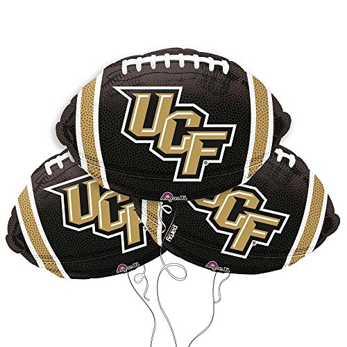 - University of Central Florida College Football Mylar Balloon 3 Pack
