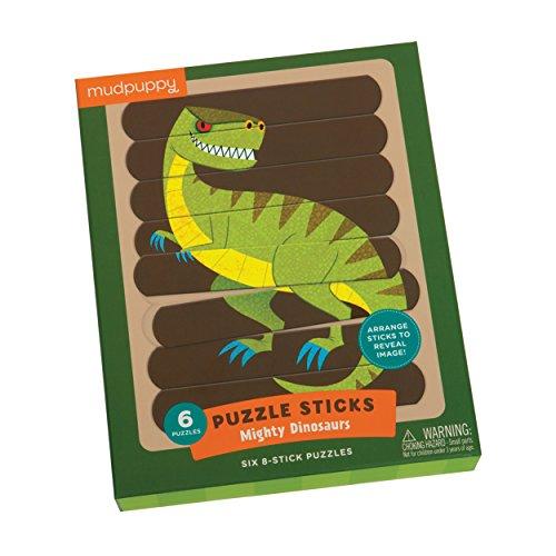 Mudpuppy Mighty Dinosaurs Puzzle Sticks product image