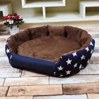 Amazon.com : Sex Appealing 3 Sizes Stylish Dog Bed Warm Soft ...