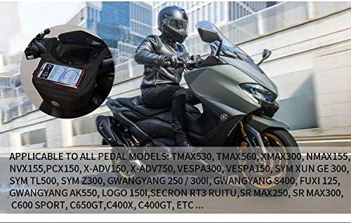 Motorcycle Handlebar Bag Fuel Tank Bag Windscreen Bag Mobile Phone Touch Screen Earphone Bag for Vespa GTS 300 150 Yamaha TMAX 560 530 XMAX300 Honda PCX 150 X-ADV