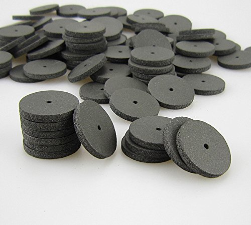100/pk Silicone Rubber Polishing Wheels Polishers for Dental