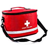 Baoke E02 First Aid Bag with Shoulder Strap Compact Portable for Emergency Home Outdoor Travel Camping Activities