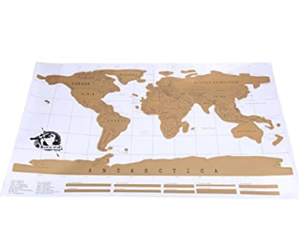 Buy travel scratch off map personalized world map poster traveler travel scratch off map personalized world map poster traveler vacation log national geographic wall sticker gumiabroncs Image collections