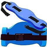 Davidamy's gift Aqua Joqqing Belt for Aquatic Aerobic Low Impact Exercises - Blue Foam Swim Flotation Belt 1PC