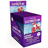 Electrolyte Mix Super Hydration Formula + Trace Minerals | New! Blueberry-Pomegranate Flavor (30 Powder Packets) Sports…