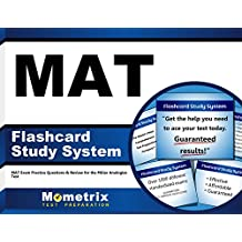 MAT Flashcard Study System: MAT Exam Practice Questions and Review for the Miller Analogies Test