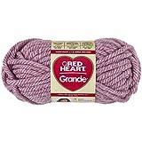 Coats: Yarn RED HEART Grande Yarn, Currant