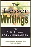 The Lesser Writings, Boenninghausen, 8170213509