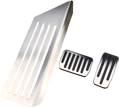 Non-Slip Accelerator and Brake Aluminium Foot Pedal Protective Pads for Model 3 Topfit Non-Slip Foot Pedals