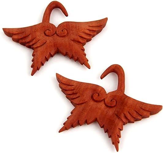 JewelryVolt Wing Design Ear Plug 6g