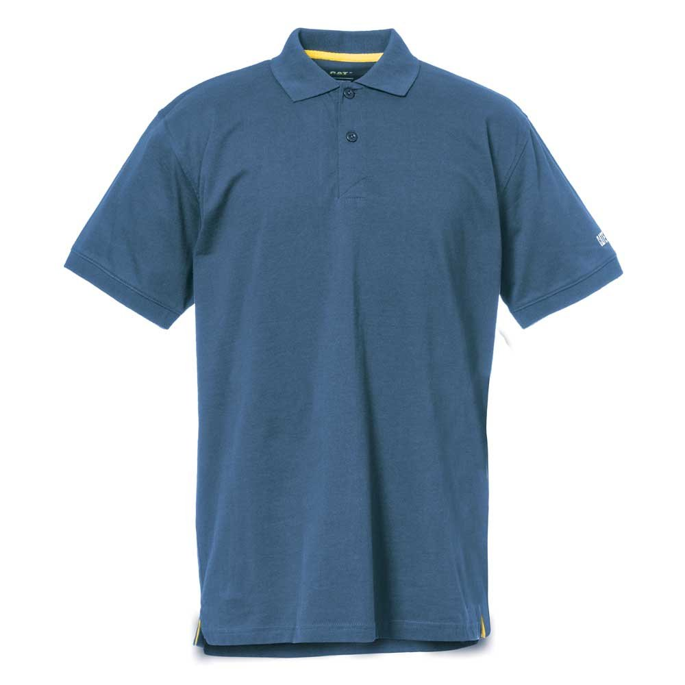 Caterpillar Classic Cotton Polo, Niagara, M