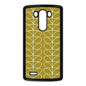 Special Design Cases LG G3 Cell Phone Case Black Orla Kiely Qmexv Durable Rubber Cover
