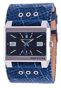 Rip Curl TARMAC A2028 - Reloj de caballero de cuarzo, correa de textil color azul claro