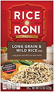 Rice a Roni, Original, Long Grain and Wild Rice Mix (Pack of 12 Boxes)