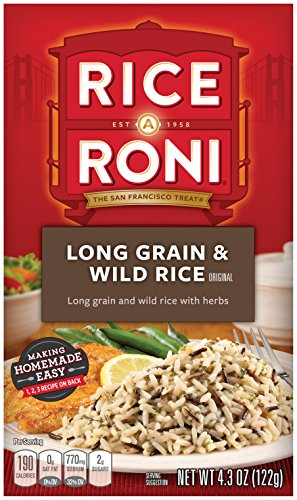 Organic Rice Macaroni - Rice a Roni, Original, Long Grain and Wild Rice Mix (Pack of 12 Boxes)