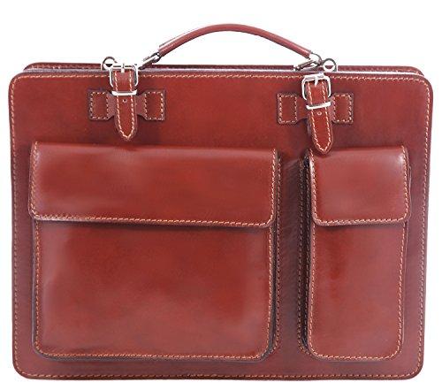 Bolso al hombro hombre Marrón Unique BAG MY para OH Taille q4gHUExww