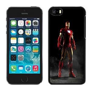 Customized Phone Case Design with Iron Man Smoke iPhone 5C Wallpaper