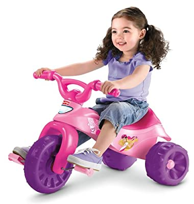Fisher-price Barbie Tough Trike Princess Ride-on by Fisher-Price