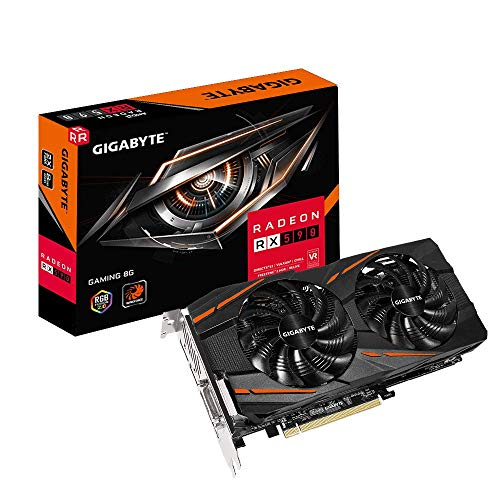 GIGABYTE Radeon Rx 590 Gaming 8G Graphics Card, 2X Windforce...
