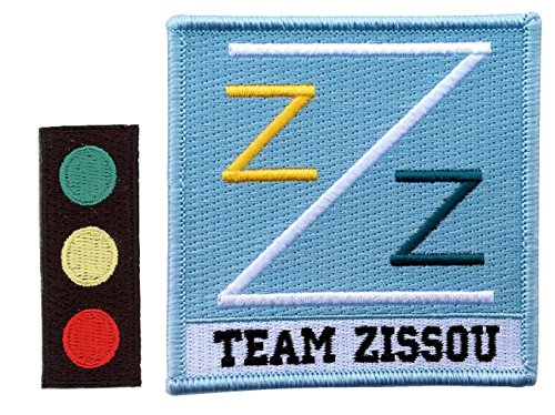Set of 2 - Traffic Light Team Zissou Cosplay Costume Patch Set by Titan One