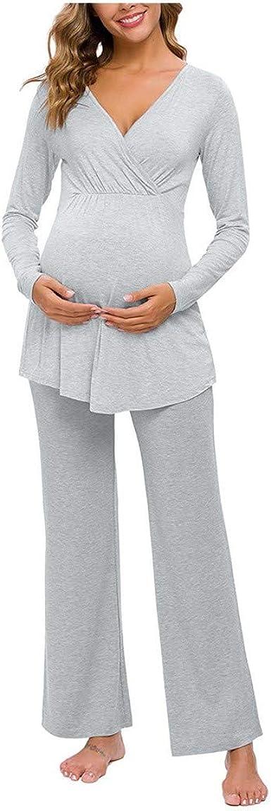 Mono Premaman elegante pijama de algodón natural para ...