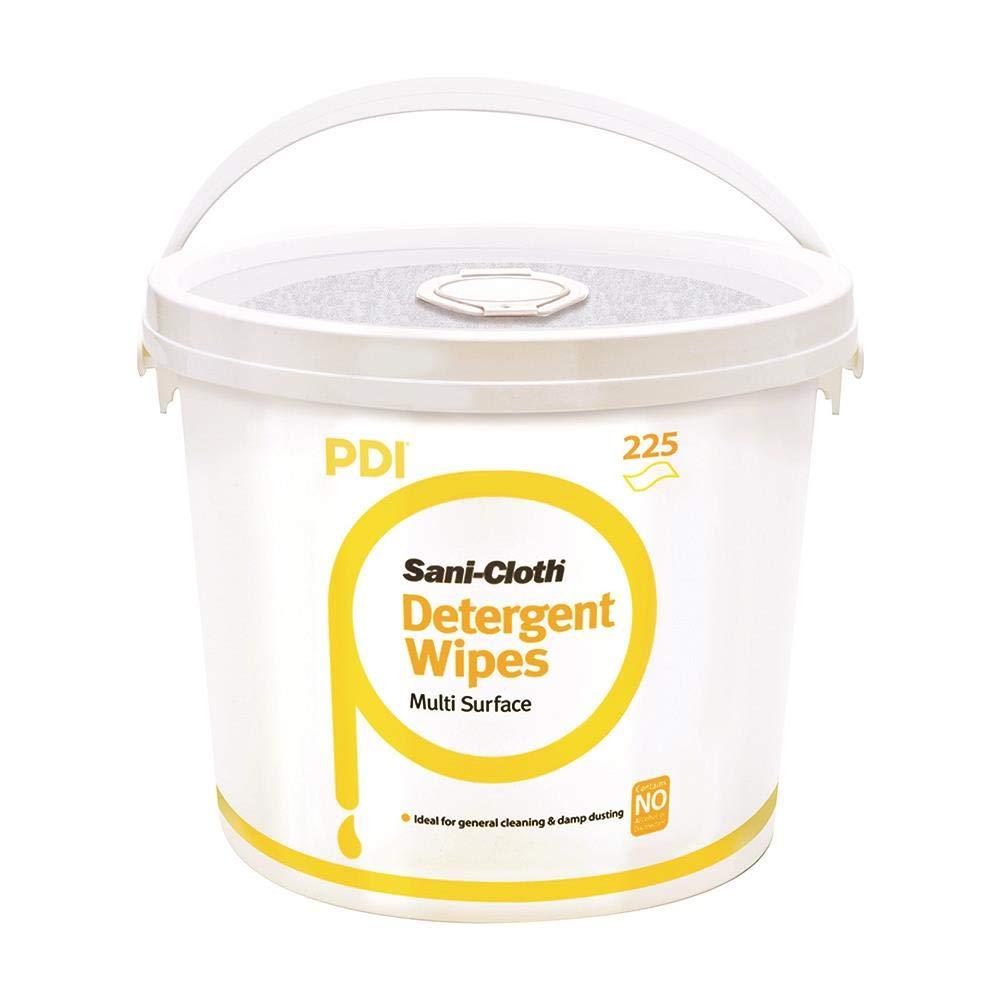 PDI Sani-Cloth Detergent Wipes, Bucket of 225