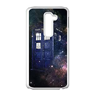 Doctor Who starry night blue police box Cell Phone Case for LG G2