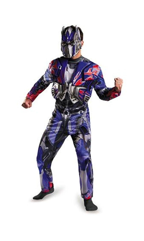 Amazon.com: Deluxe Transformers Optimus Prime Costume/Mask Adult ...