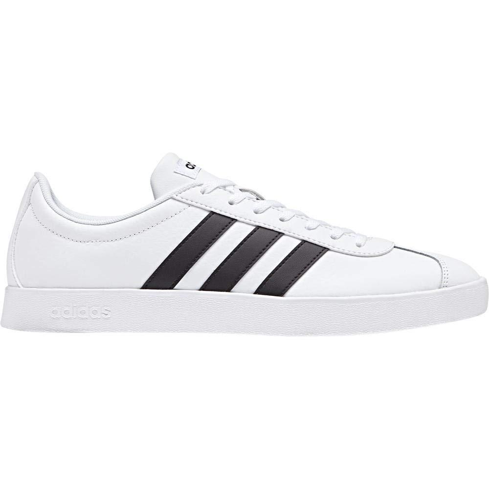 Weiß(ftwr Weiß Core schwarz Core schwarz) adidas Herren Vl Court 2.0 Fitnessschuhe