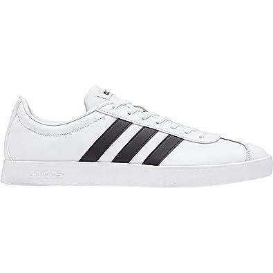 3eca401836c7 adidas Men s Vl Court 2.0 Skateboarding Shoes FTWR White Core Black ...